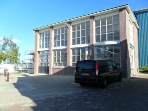 Ingang melkfabriek Veldt Restpartijen te Heerle